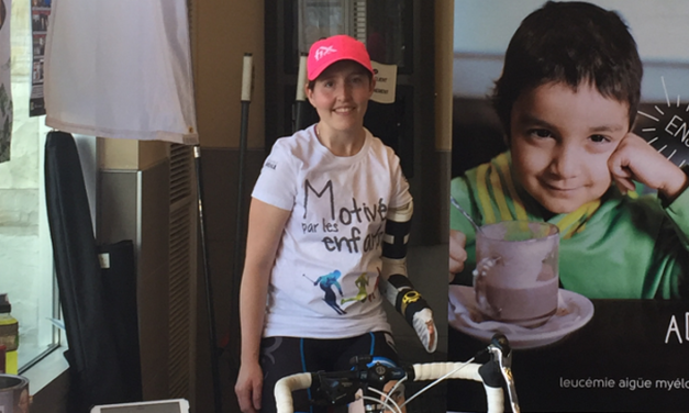 D'enfant malade à participante mobilisée; rencontre Marie-Soleil Quesnel!