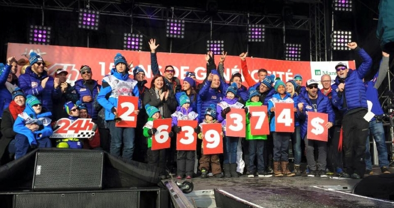 A Sensational 15th Anniversary for Tremblant's 24h.