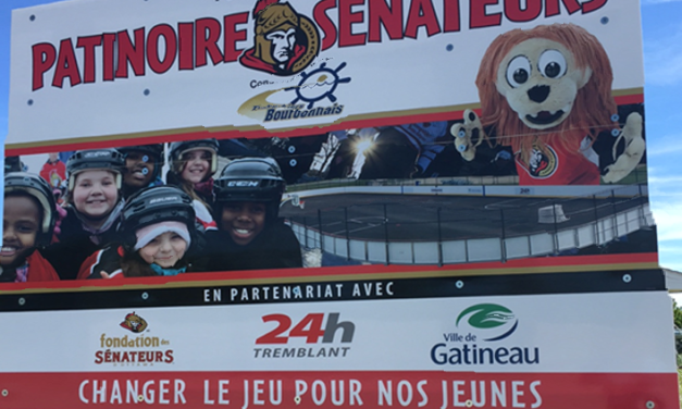 4th SENS RINK Underway in Partnership with Tremblant's 24h!