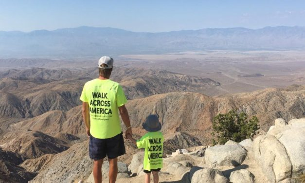 Walk across America; meet Sébastien Jacques